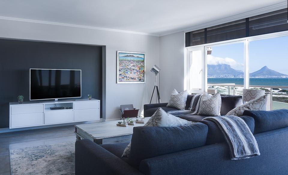 6947d1a590d3 Ideas para la decoración del salón comedor con muebles modulares