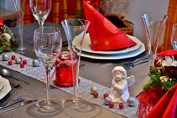 Decora tu comedor en Navidad