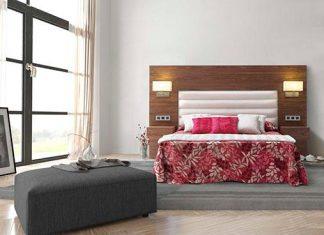 Muebles para Hoteles, Nogal Yecla