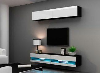 Decoración con muebles modernos