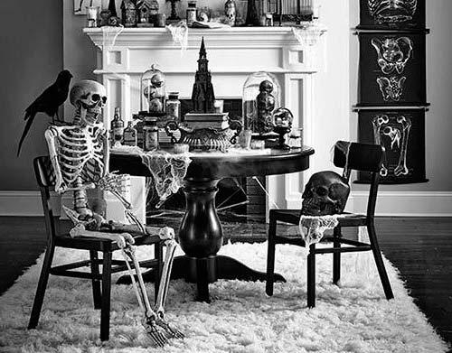 Esqueleto Halloween Mesa